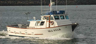 The Sea Star Charters Fishing Boat